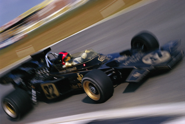 Emerson Fittipaldi, Lotus 72D Ford.