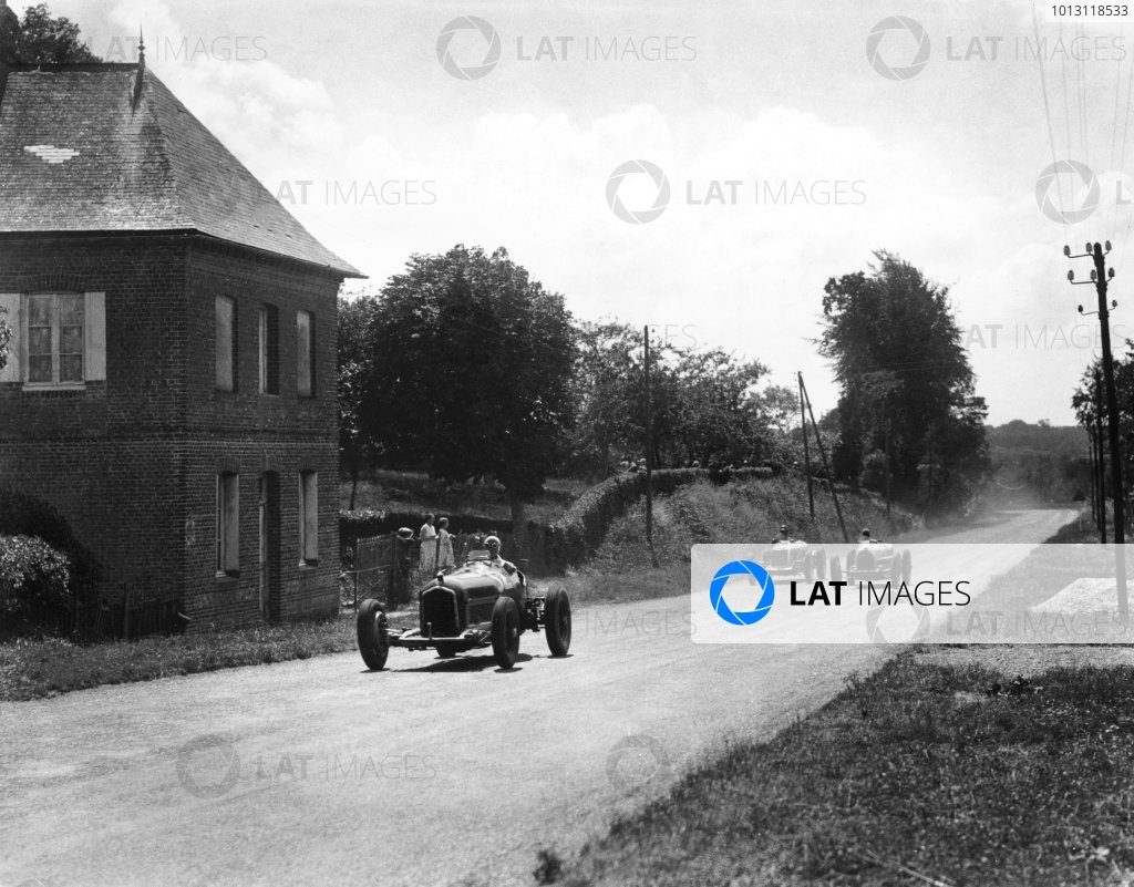 1935 Dieppe Grand Prix.Dieppe, France. 21 July 1935.Louis Chiron, Alfa Romeo Tipo-B