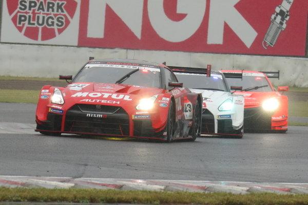 Tsugio Matsuda & Ronnie Quintarelli,  Motul Autech NISMO Nissan GT-R, 3rd position in GT500