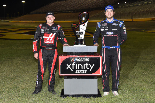 #98: Chase Briscoe, Stewart-Haas Racing, Ford Mustang Ford Performance and #00: Cole Custer, Stewart-Haas Racing, Ford Mustang Haas Automation
