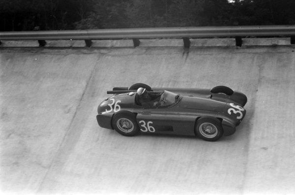 Jean Behra, Maserati 250F.
