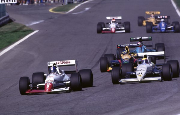 1989 Portuguese Grand Prix.