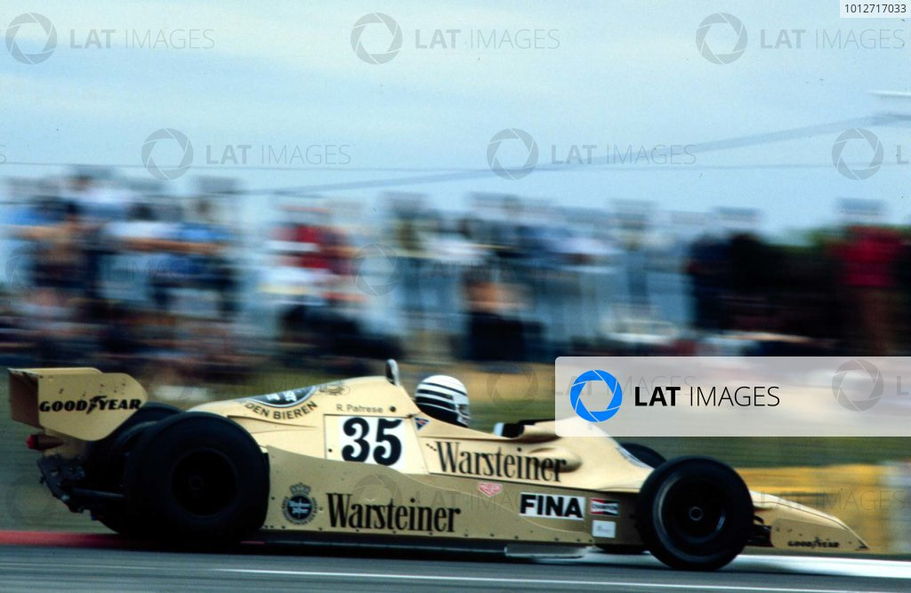 1978 French Grand Prix.Paul Ricard, Le Catellet, France.30/6-2/7 1978.Riccardo Patrese (Arrows FA1 Ford) 8th position.World Copyright - LAT Photographic