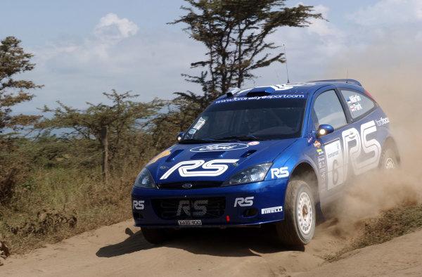 2002 World Rally Championship.Safari Rally, Nairobi Kenya, July 11-14th.Markko Martin during shakedown.Photo: Ralph Hardwick/LAT