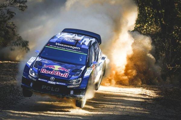 Sebastien Ogier (FRA) / Julien Ingrassia (FRA), Volkswagen Polo R WRC at FIA World Rally Championship, R10, Coates Hire Rally Australia, Day Two, Coffs Harbour, New South Wales, Australia, 12 September 2015.