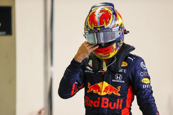 Alexander Albon, Red Bull Racing, in Parc Ferme