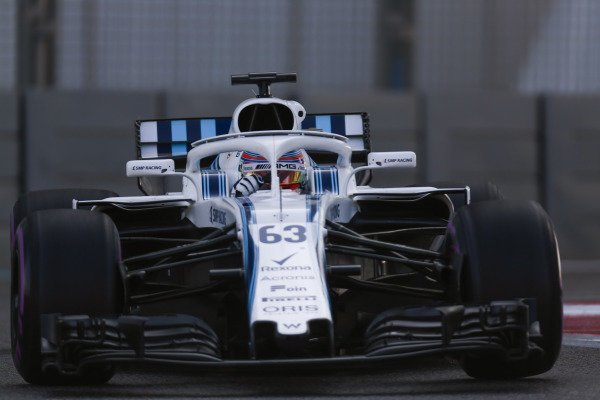George Russell, Williams FW41 Mercedes.