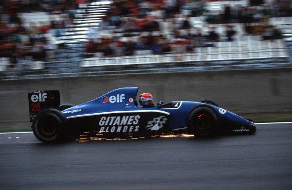Érik Comas, Ligier JS35B Lamborghini.