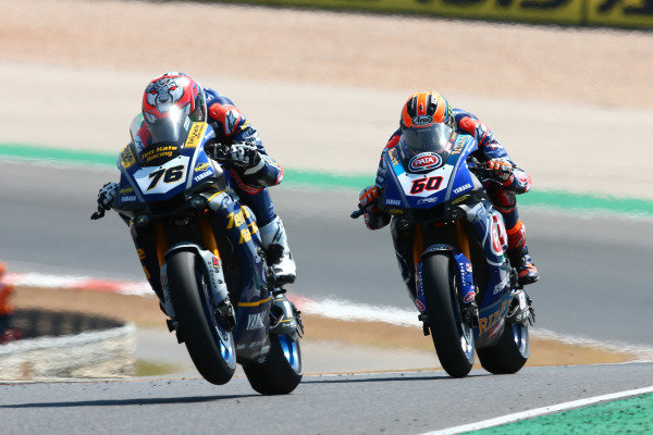 Loris Baz, Althea Racing, Michael van der Mark, Pata Yamaha.