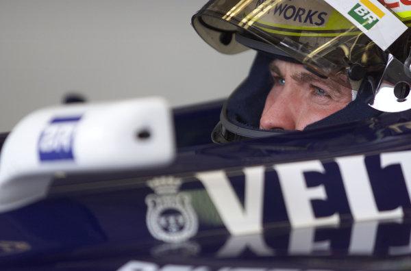 2001 San Marino Grand Prix.Imola, Italy. 13-15 April 2001.Ralf Schumacher (Williams FW23 BMW) 1st position.World Copyright - Steve Etherington/LAT Photographicref: 17 5 mb digital image.