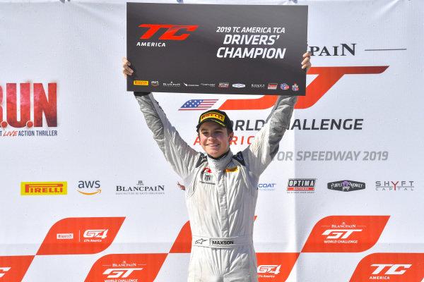 #74 Mazda Global MX5 Cup ND.2 of Tyler Maxson  with Copeland Motorsports  2019 Blancpain GT World Challenge America - Las Vegas, Las Vegas NV