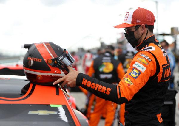 Chase Elliott, Hendrick Motorsports Chevrolet Hooters, Copyright: Chris Graythen/Getty Images.