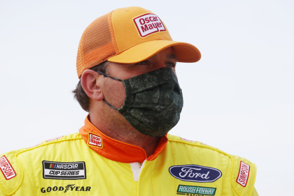 Ryan Newman, Roush Fenway Racing Ford Oscar Mayer Copyright: Chris Graythen/Getty Images.