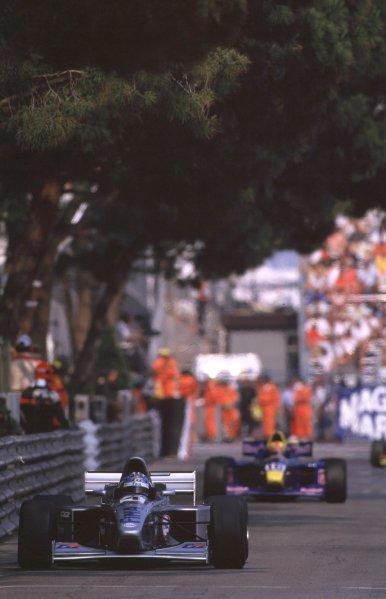 International F3000 MonacoMonte Carlo, Rd 5, 2nd - 3rd june 2000.3rd place, David Saelens, race action.World - Bellanca/ LAT PhotographicThree Thousand Monaco