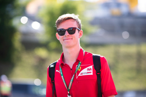 HUNGARORING, HUNGARY - AUGUST 01: Callum Ilott (GBR, SAUBER JUNIOR TEAM BY CHAROUZ) during the Hungaroring at Hungaroring on August 01, 2019 in Hungaroring, Hungary. (Photo by Joe Portlock / LAT Images / FIA F2 Championship)
