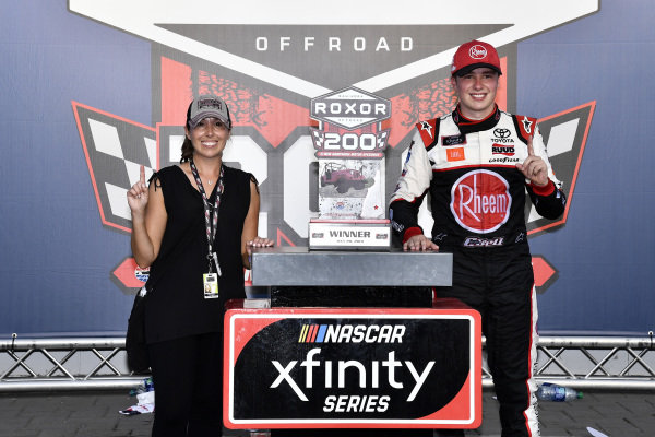 #20: Christopher Bell, Joe Gibbs Racing, Toyota Supra Rheem-Watts wins