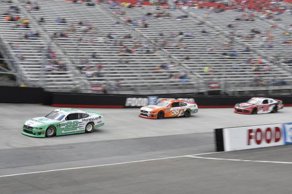 #22: Austin Cindric, Team Penske, Ford Mustang MoneyLion, #52: David Starr, Means Motorsports, Chevrolet Camaro