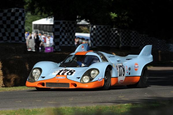 Goodwood, England3rd/4th/5th July 2009. Porsche 917World Copyright: Jeff Bloxham/LAT PhotographicRef: Digital Image Only
