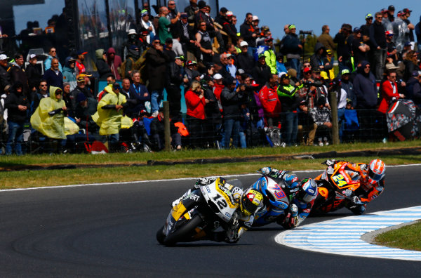 2017 Moto2 Championship - Round 16 Phillip Island, Australia. Sunday 22 October 2017 Thomas Luthi, CarXpert Interwetten World Copyright: Gold and Goose / LAT Images ref: Digital Image 24763