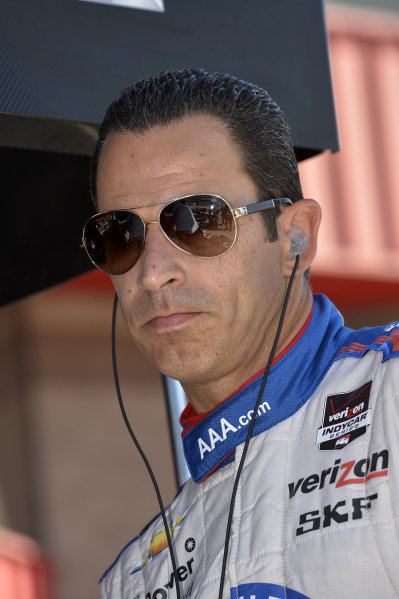 Helio Castroneves (BRA) Team Penske.
