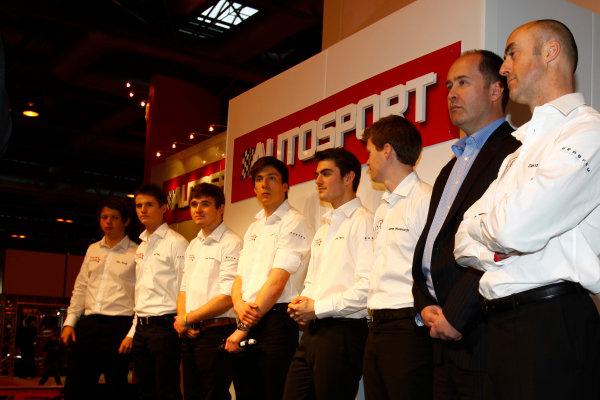 NEC, Birmingham. 13th January 2012.MSA representatives speaking on the Autosport stage.World Copyright:Glenn Dunbar/LAT Photographicref: Digital Image _MG_1770