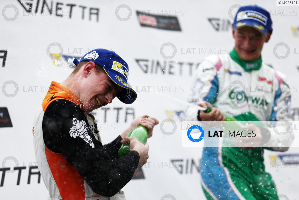2017 Ginetta Junior Championship,  Knockhill, 12th-13th August 2017, Tom Gamble JHR Developments Ginetta Junior World copyright. JEP/LAT Images
