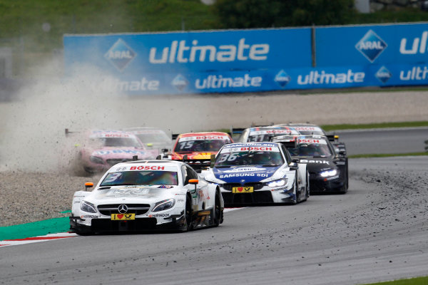 2017 DTM Round 8  Red Bull Ring, Spielberg, Austria  Sunday 24 September 2017. Gary Paffett, Mercedes-AMG Team HWA, Mercedes-AMG C63 DTM  World Copyright: Alexander Trienitz/LAT Images ref: Digital Image 2017-DTM-RBR-AT3-2579