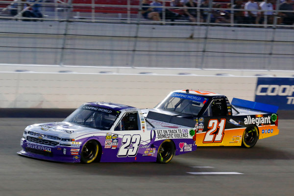 1 October, 2016, Las Vegas, Nevada USA Spencer Gallagher and Johnny Sauter ?2016, Russell LaBounty LAT Photo USA