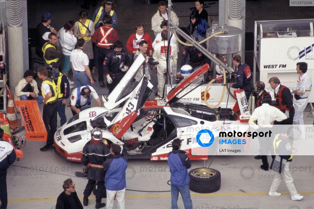 1995 Le Mans 24 Hours Le mans,