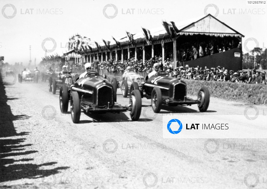 1935 Dieppe Grand Prix Dieppe, France. 21 July 1935 Rene Dreyfus, Alfa Romeo Tipo-B
