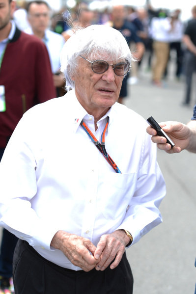 Bernie Ecclestone (GBR) CEO Formula One Group (FOM) at Formula One World Championship, Rd7, Canadian Grand Prix, Race, Montreal, Canada, Sunday 7 June 2015.