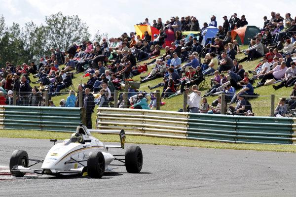 2013 MSA Formula Ford Championhip, Croft, North Yorkshire. 22nd-23rd June 2013, Sam Brabham (GBR) JTR Formula Ford 200. World Copyright: Ebrey/LAT Photographic
