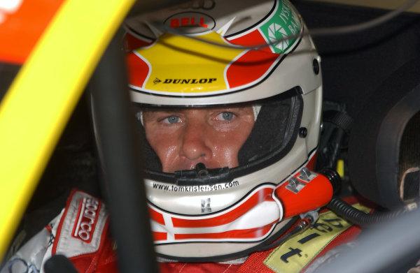 2004 DTM ChampionshipNurburgring, Germany. 30th July - 1st August.Tom Kristensen (Abt Sportsline Audi A4). In helmet.World Copyright: Andre Irlmeier/LAT Photographicref: Digital Image Only