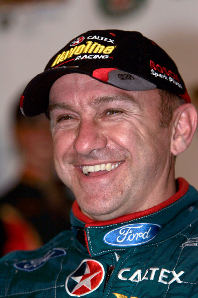 2004 Australian V8 SupercarsSymmons Plain Raceway, Tasmania. November 14th.V8 Supercar driver Russell Ingall took his first round win for the year at Round 12. Portrait.World Copyright: Mark Horsburgh/LAT Photographicref: Digital Image Only