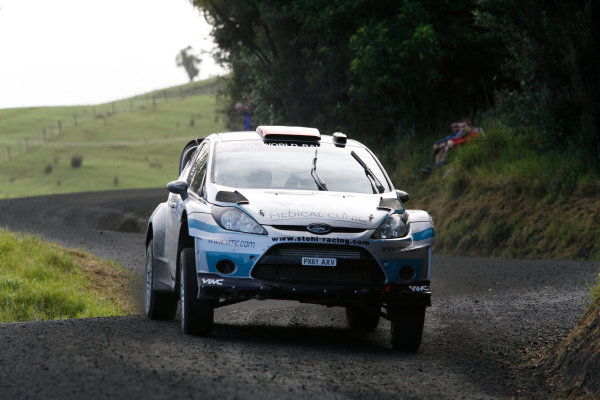 Round 7, Rally New Zealand, 21st-24th June 2012 Manfred Stohl, Ford Fiesta, Action. Worldwide Copyright: McKlein/LAT Photographic.