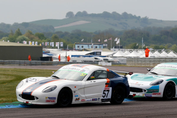 2017 Ginetta Junior championship  Thruxton, 6th-7th May 2017,  Keaton Samra Fox Motorsport Ginetta Junior World copyright. JEP/LAT Images