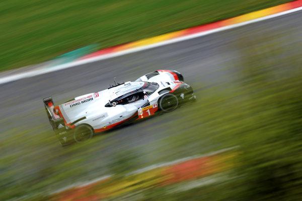 2017 FIA World Endurance Championship. Spa-Francorchamps, Belgium, 4th-6th May 2017. #1 Porsche Team Porsche 919 Hybrid: Neel Jani, Andre Lotterer, Nick Tandy World Copyright: JEP/LAT Images