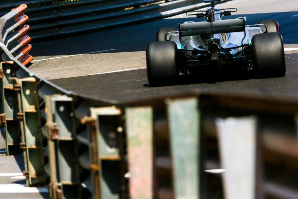 Monte Carlo, Monaco. Thursday 25 May 2017. Lewis Hamilton, Mercedes F1 W08 EQ Power+. World Copyright: Charles Coates/LAT Images ref: Digital Image AN7T2872