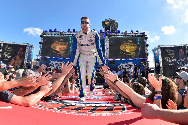 Monster Energy NASCAR Cup Series Ford EcoBoost 400 Homestead-Miami Speedway, Homestead, FL USA Sunday 19 November 2017 Ty Dillon, Germain Racing, GEICO Chevrolet SS World Copyright: John K Harrelson LAT Images