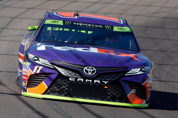 Monster Energy NASCAR Cup Series Can-Am 500 Phoenix Raceway, Avondale, AZ USA Friday 10 November 2017 Denny Hamlin, Joe Gibbs Racing, FedEx Ground Toyota Camry World Copyright: Lesley Ann Miller LAT Images