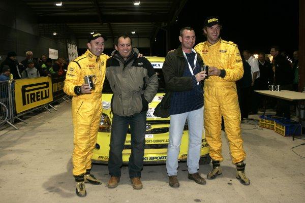 2006 British Rally ChampionshipTrackrod Rally, Yorkshire.7th October 2006Guy Wilks and Phil PughWorld Copyright - Ebrey/LAT Photographic
