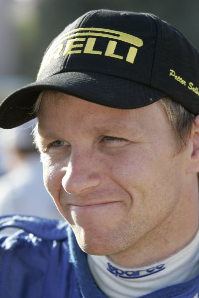 2005 FIA World Rally Championship  Round 5, Rally of Italy, Sardinia. 29th - 1st May April 2005. Petter Solberg, portrait. World Copyright: Mcklein/LAT Photographic Ref: Digital Image Only.
