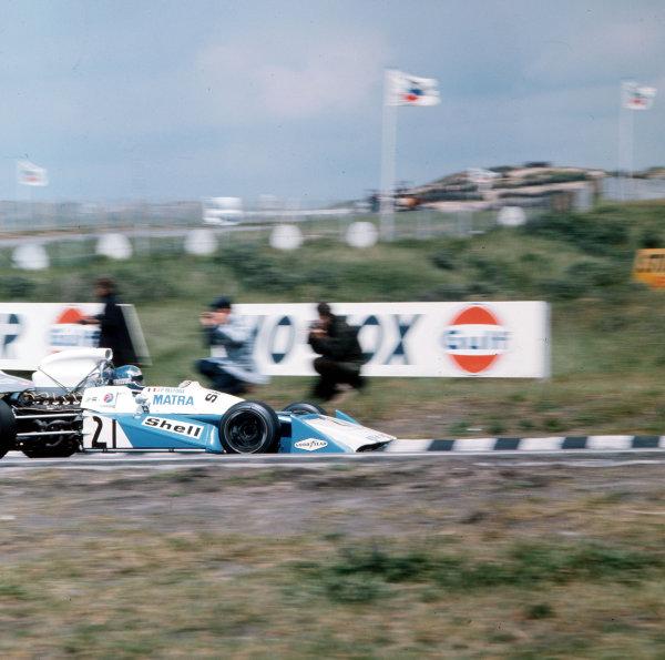 Zandvoort, Holland.18-20 June 1971.Jean-Pierre Beltoise (Matra-Simca MS120B).Ref-3/4774K.World Copyright - LAT Photographic