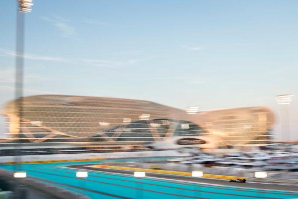 Yas Marina Circuit, Abu Dhabi, United Arab Emirates. Sunday 29 November 2015. Sergio Perez, Force India VJM08 Mercedes. World Copyright: Zak Mauger/LAT Photographic ref: Digital Image _L0U8424