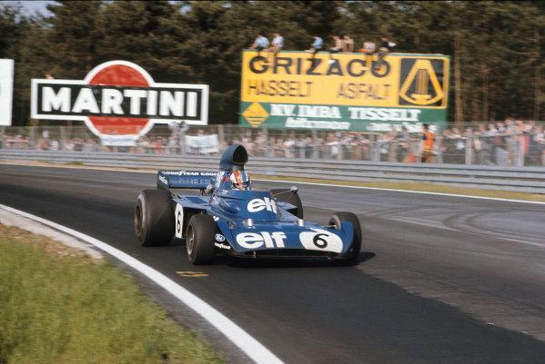 1973 Belgian Grand Prix.  Zolder, Belgium. 18-20th May 1973.  François Cevert, Tyrrell 006 Ford, 2nd position.  Ref: 73BEL29. World Copyright: LAT Photographic