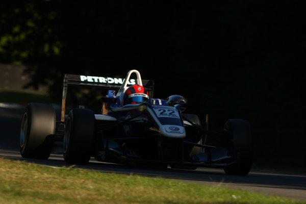 2013 British Formula 3 International Series, Brands Hatch, Kent. 9th - 11th August 2013. Jazeman Jaafar (MAL) Carlin Dallara Mercedes. World Copyright: Ebrey / LAT Photographic.