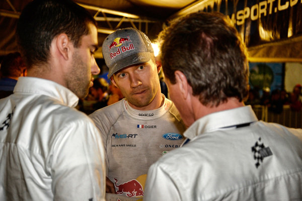 Sebastien Ogier (FRA), M-Sport World Rally Team WRC at World Rally Championship, Rd5, Rally Argentina, Day Two, Villa Carlos Paz, Cordoba, Argentina, 29 April 2017.