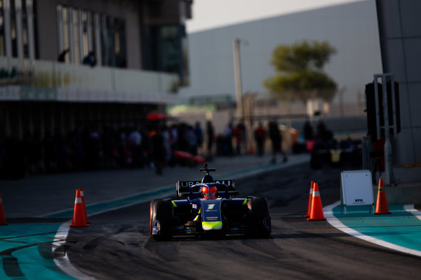 YAS MARINA CIRCUIT, UNITED ARAB EMIRATES - DECEMBER 05: Nikita Mazepin (RUS, Carlin) during the Abu Dhabi at Yas Marina Circuit on December 05, 2019 in Yas Marina Circuit, United Arab Emirates. (Photo by Joe Portlock / LAT Images / FIA F2 Championship)