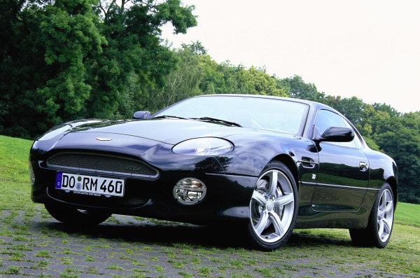 Aston Martin DB7 GT, 2003. Dortmund, Germany.