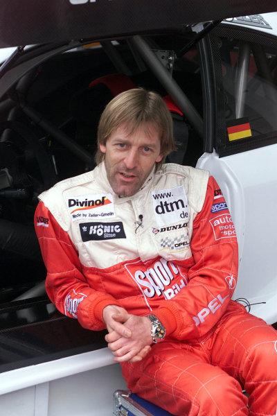 2001 DTM TestingHockenheim, Germany. 20th March 2001.Jo Winkelhock, Opel.World Copyright: LAT Photographicref: 5 mb Digital Image